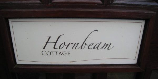 Hornbeam Cottage Door
